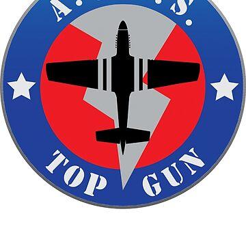 Top Gun Logo by DarkHorseDesign