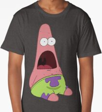 Surprised Patrick Star  Long T-Shirt