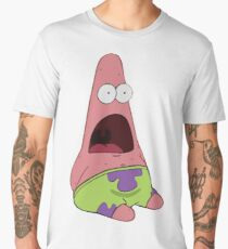 Surprised Patrick Star  Men's Premium T-Shirt