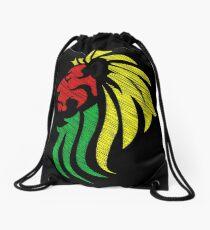 Lion Reggae Flaggenfarben Rucksackbeutel