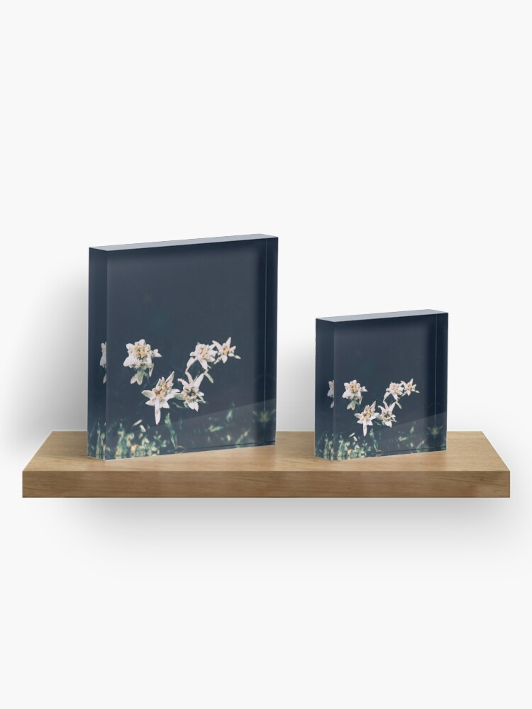 Alternate view of Edelweiss Acrylic Block