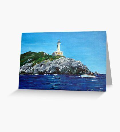Punta Carena Lighthouse Greeting Card