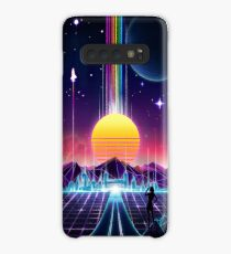Neon Sunrise Case/Skin for Samsung Galaxy