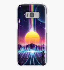 Neon Sunrise Samsung Galaxy Case/Skin