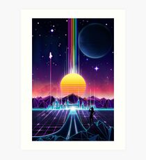 Neon Sunrise Art Print