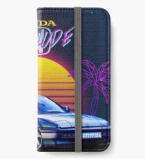 Honda Prelude Retrowave iPhone Wallet/Case/Skin
