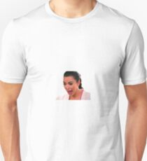 Ugly Kim Crying Face T-Shirt
