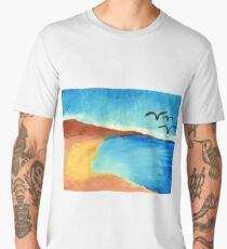Beach Men's Premium T-Shirt