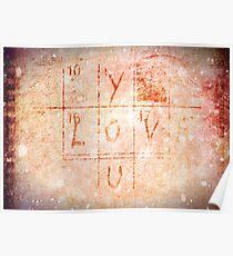 Love You - Valentine Poster