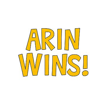 Arin Wins! by TheBatchild