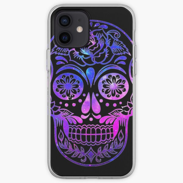 Space Skull iPhone Soft Case