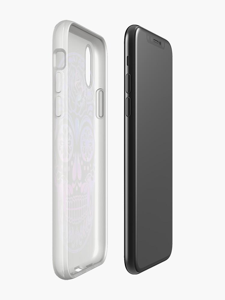 Alternative Ansicht von Raumschädel iPhone-Hülle & Cover