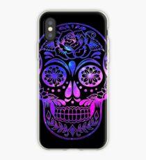 Space Skull iPhone Case