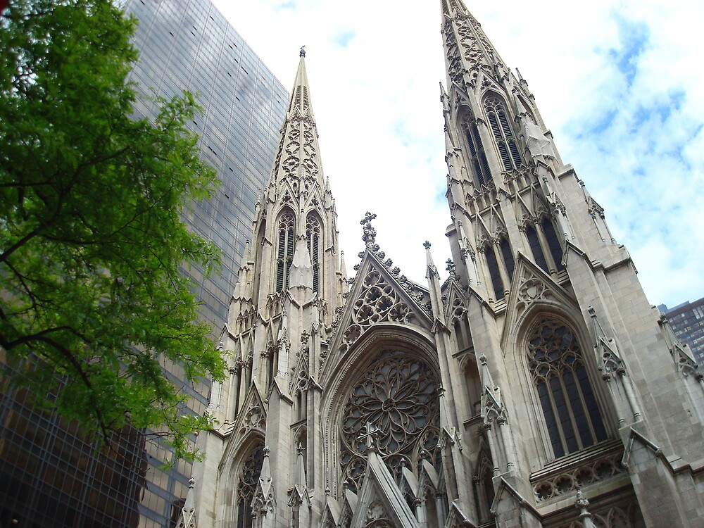 Saint Patrick's Cathedral by xDisenchantedx
