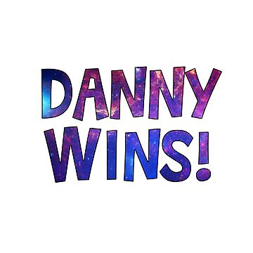 Danny Wins! (blue) by TheBatchild