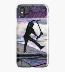 Deck Grab Champion - Stunt Scooter Art iPhone Case