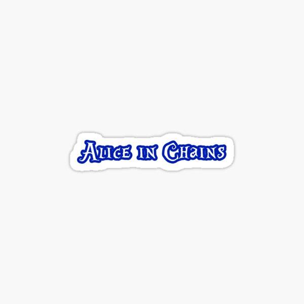 ALICE IN CHAINS - Wonderland Lettering Sticker