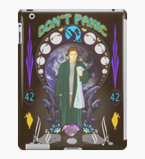 Art(hur) Nouveau - Hitchhikers Guide iPad Case/Skin