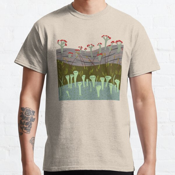Moss with Lichens Classic T-Shirt