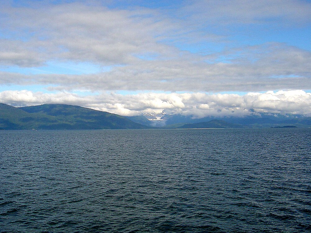 View from a whale watching excursion by Liz Wear