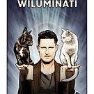 Wil Anderson WILUMINATI (Ramona and Ziggy) by James Fosdike