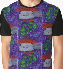 Rain Can't Stop the Flower Power Graphic T-Shirt