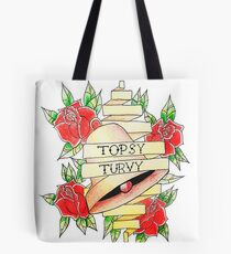 Hunchback of Notre Dame Topsy Turvy Tattoo Tote Bag