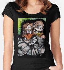 Wreck-it Hound Women's Fitted Scoop T-Shirt