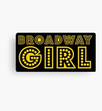 broadway girl Canvas Print