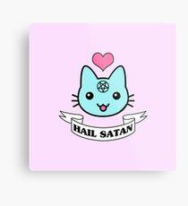 Gato Satánico Decoración Redbubble