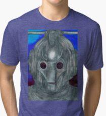 Cyberman Sketch Tri-blend T-Shirt