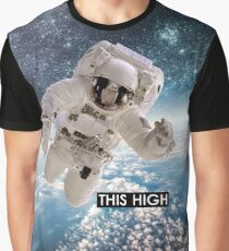 """This High"" Astronaut Graphic T-Shirt"