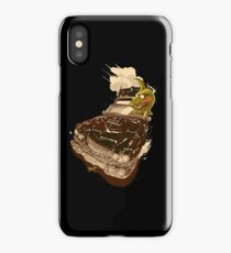 Dinosaur on a Cadillac iPhone Case/Skin