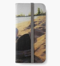 sunsets don't last forever iPhone Wallet/Case/Skin