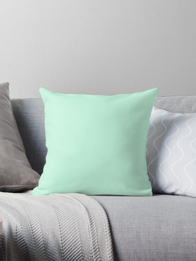 Beautiful Cushions/ Plain Aero blue by ozcushions