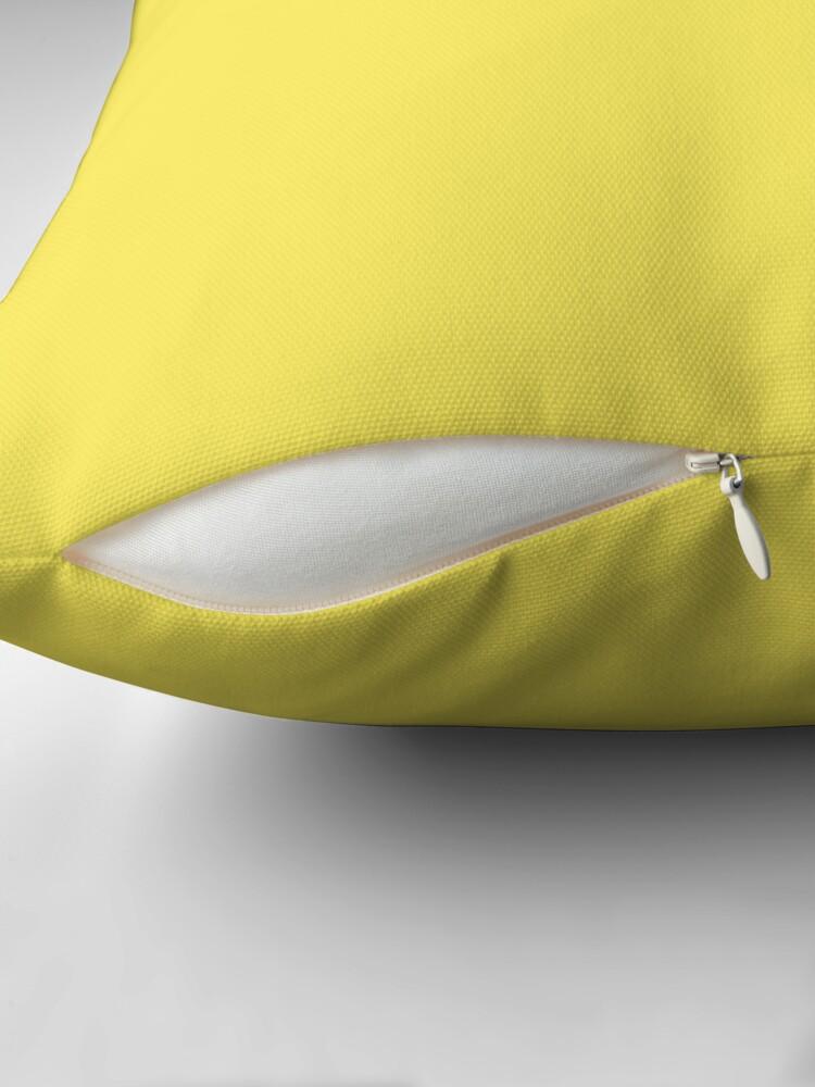 Alternate view of Beautiful Cushions/ Plain Corn Throw Pillow