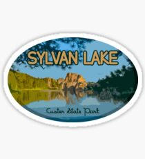 Sylvan Lake, Custer State Park Sticker