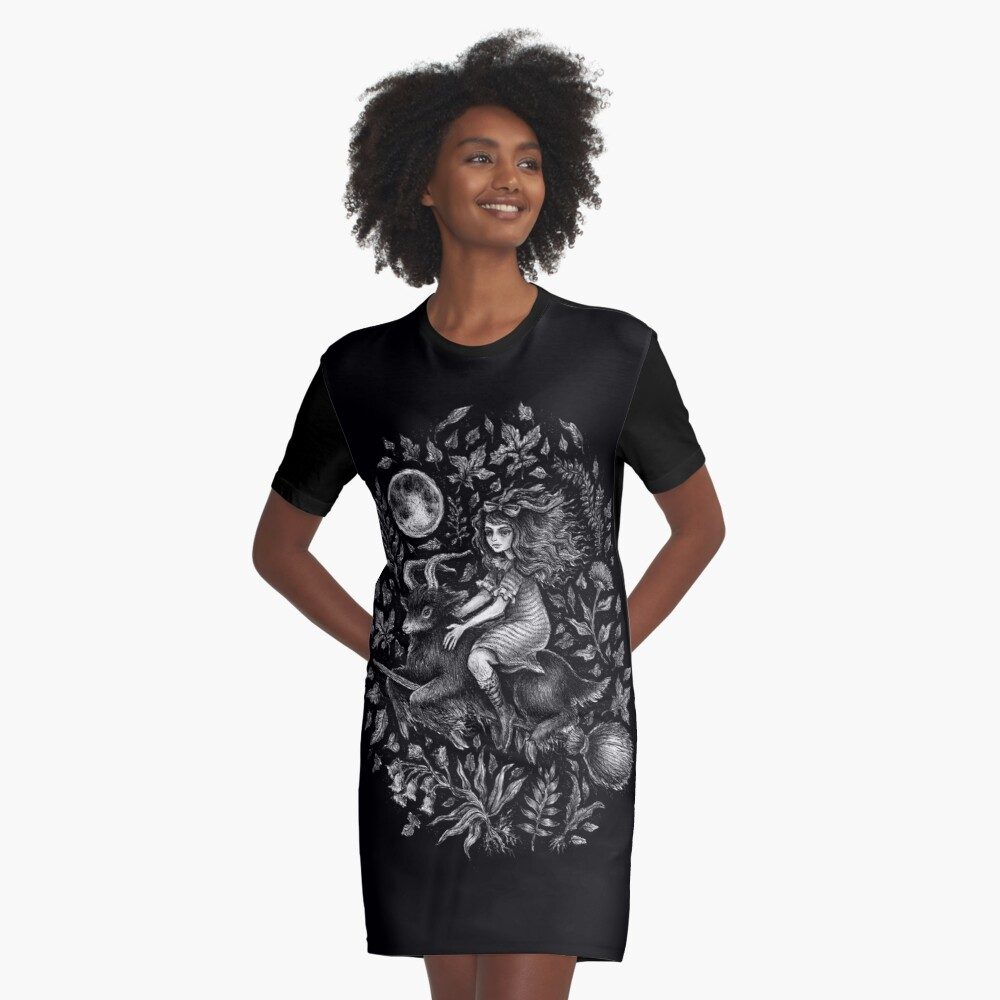 VVITCH - color variant 2  Graphic T-Shirt Dress