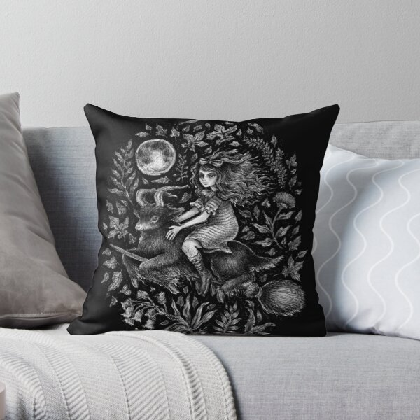 VVITCH - color variant 2  Throw Pillow