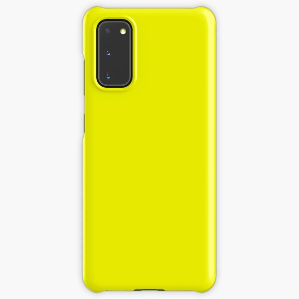 Neon fluorescent Yellow | Yellow|neon Yellow/Fluro Yellow Samsung Galaxy Snap Case