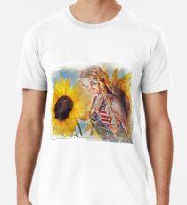 Sunflower Girl Premium T-Shirt