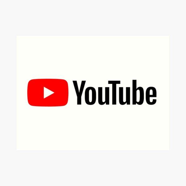 YouTube 2020 Art Print