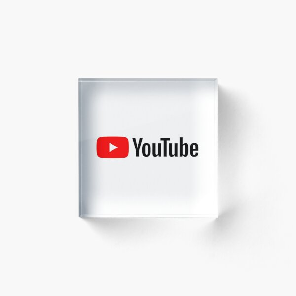 YouTube 2020 Acrylic Block