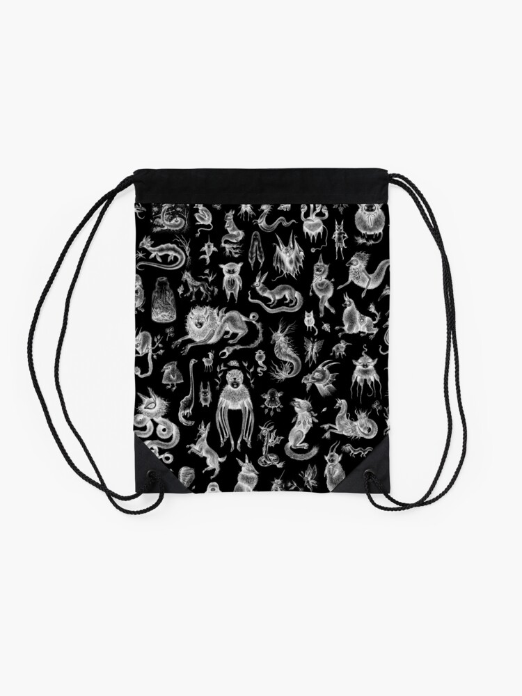 Alternate view of We Are Not Alone - inverted Drawstring Bag