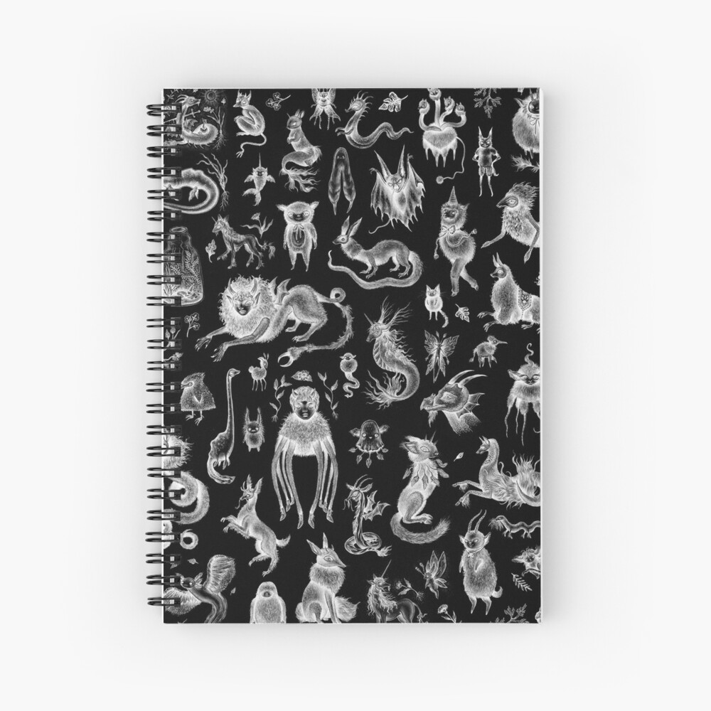 We Are Not Alone - inverted Spiral Notebook