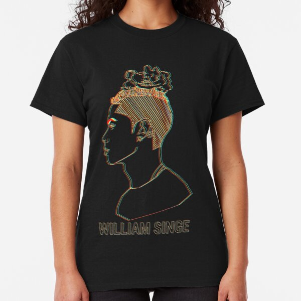 William Singe Vintage 3D Look Classic T-Shirt