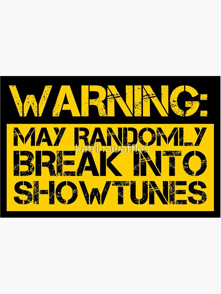 advertencia, puede romper aleatoriamente en melodías de katrinawaffles