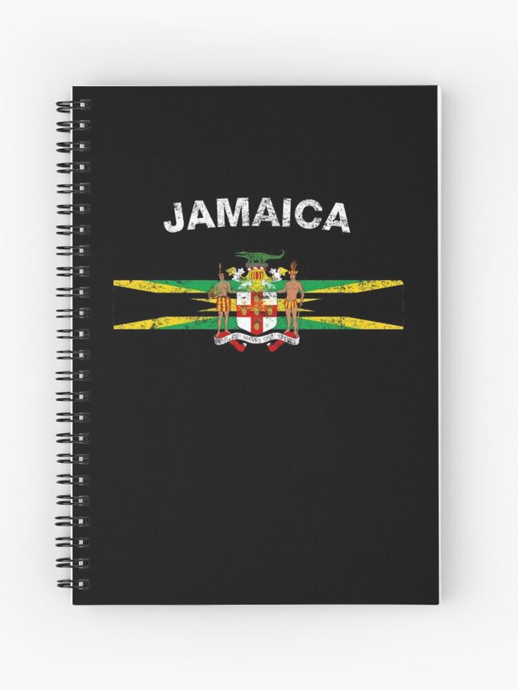 Jamaica t-shirt Jamaican flag design mens black tee shirt travel soccer country