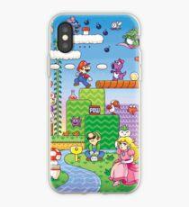Vinilo o funda para iPhone Nintendo - Mario 2