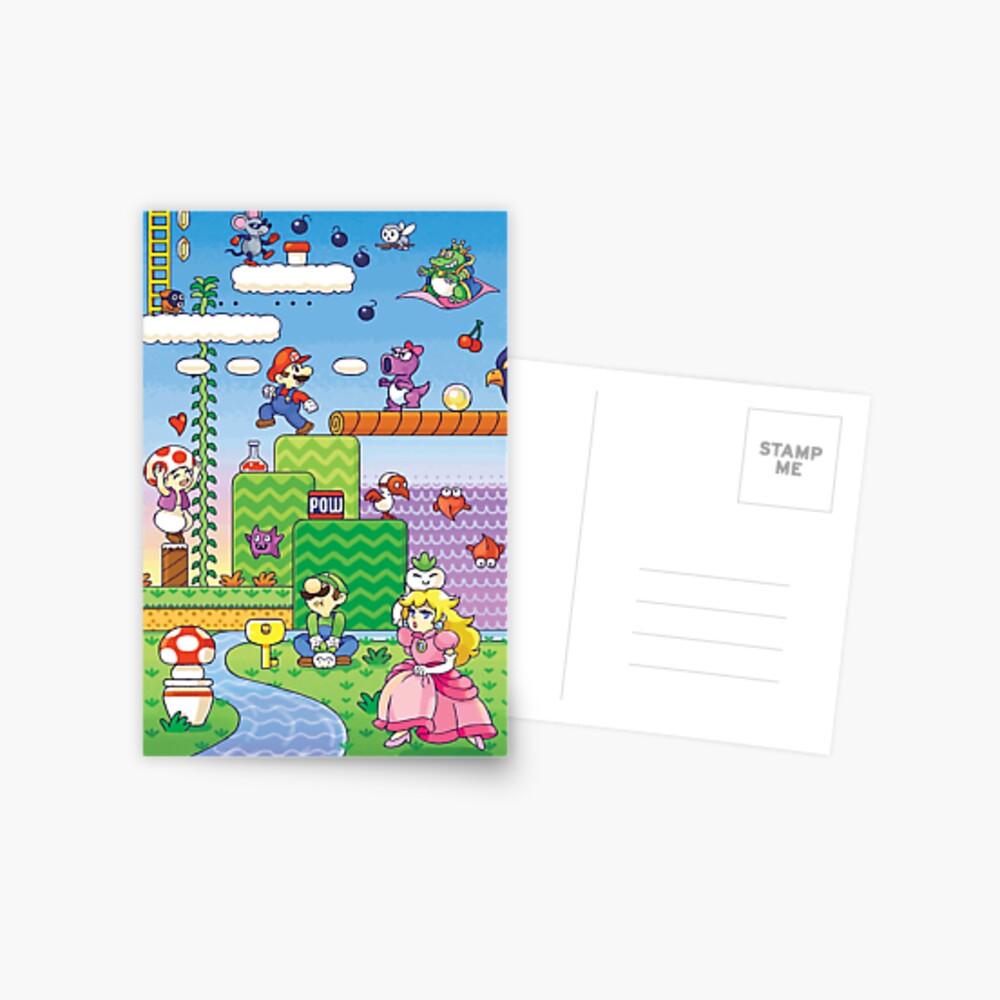 Nintendo - Mario 2 Postkarte